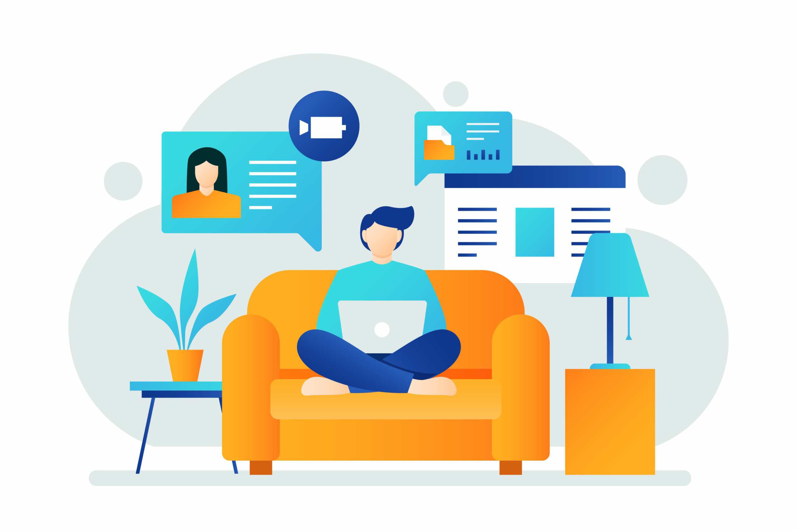 Top digital tools for homeworking employees