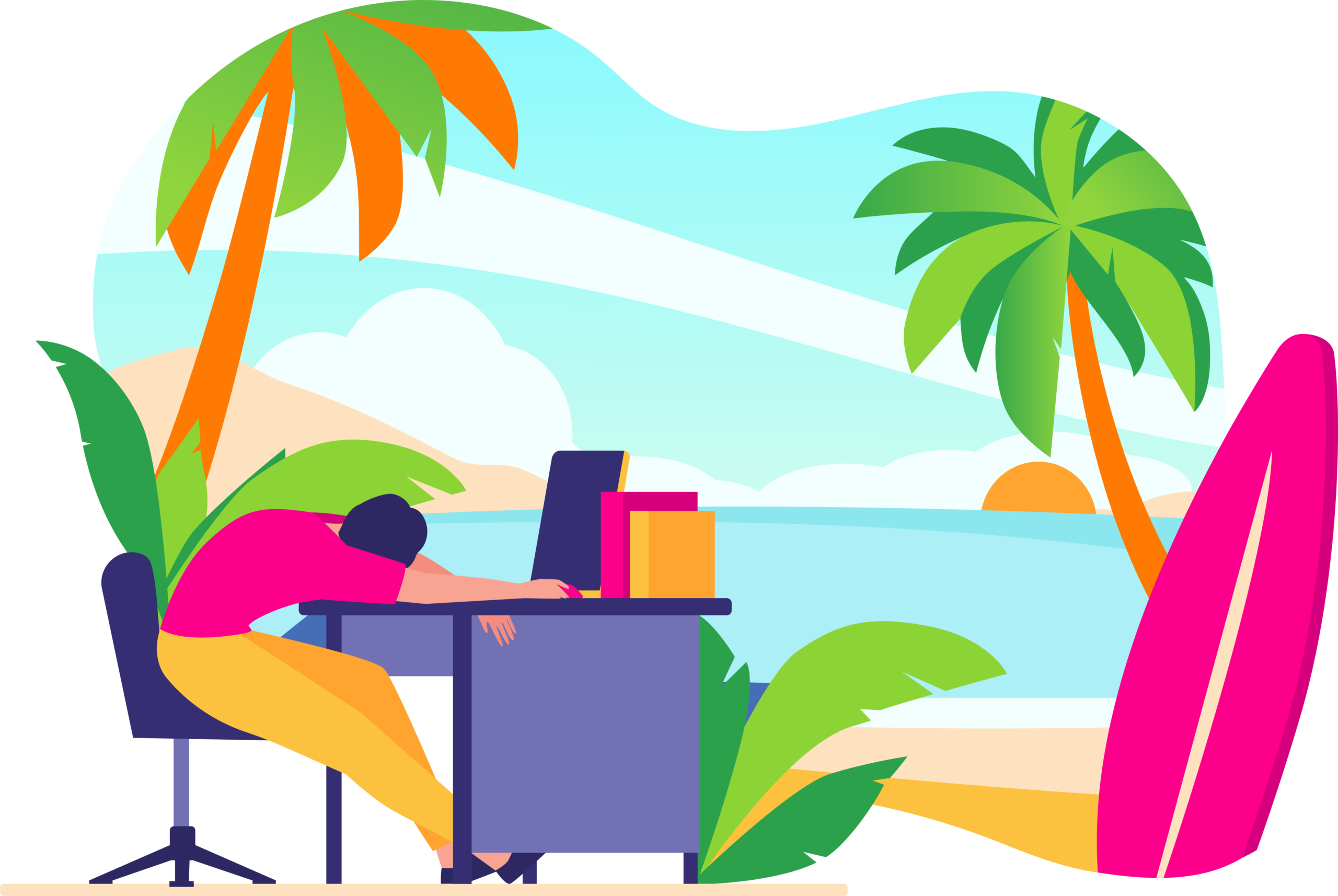 3 reasons to stay open to new job opportunities during the summer