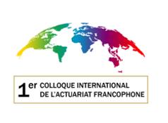 logo du premier colloque francophone de l'actuariat