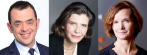 Bruno Valersteinas, Nathalie Couveignes et Christelle Le Berre