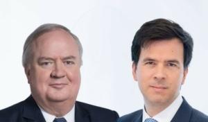Denis Kessler et Laurent Rousseau